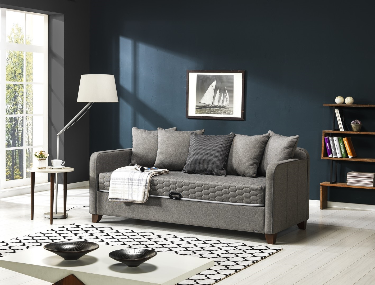 DAYBED 090x190 ANTRASIT(T0070)